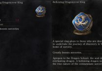 Bellowing Dragoncrest Ring Dark Souls 3