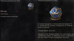 Bellowing Dragoncrest Ring Dark Souls 3