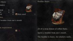 Boulder Heave Dark Souls 3
