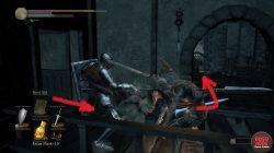 Broadsword Exact Location Dark Souls 3