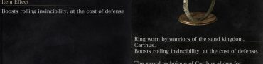Carthus Bloodring Dark Souls 3