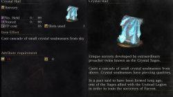 Crystal Hail Dark Souls 3