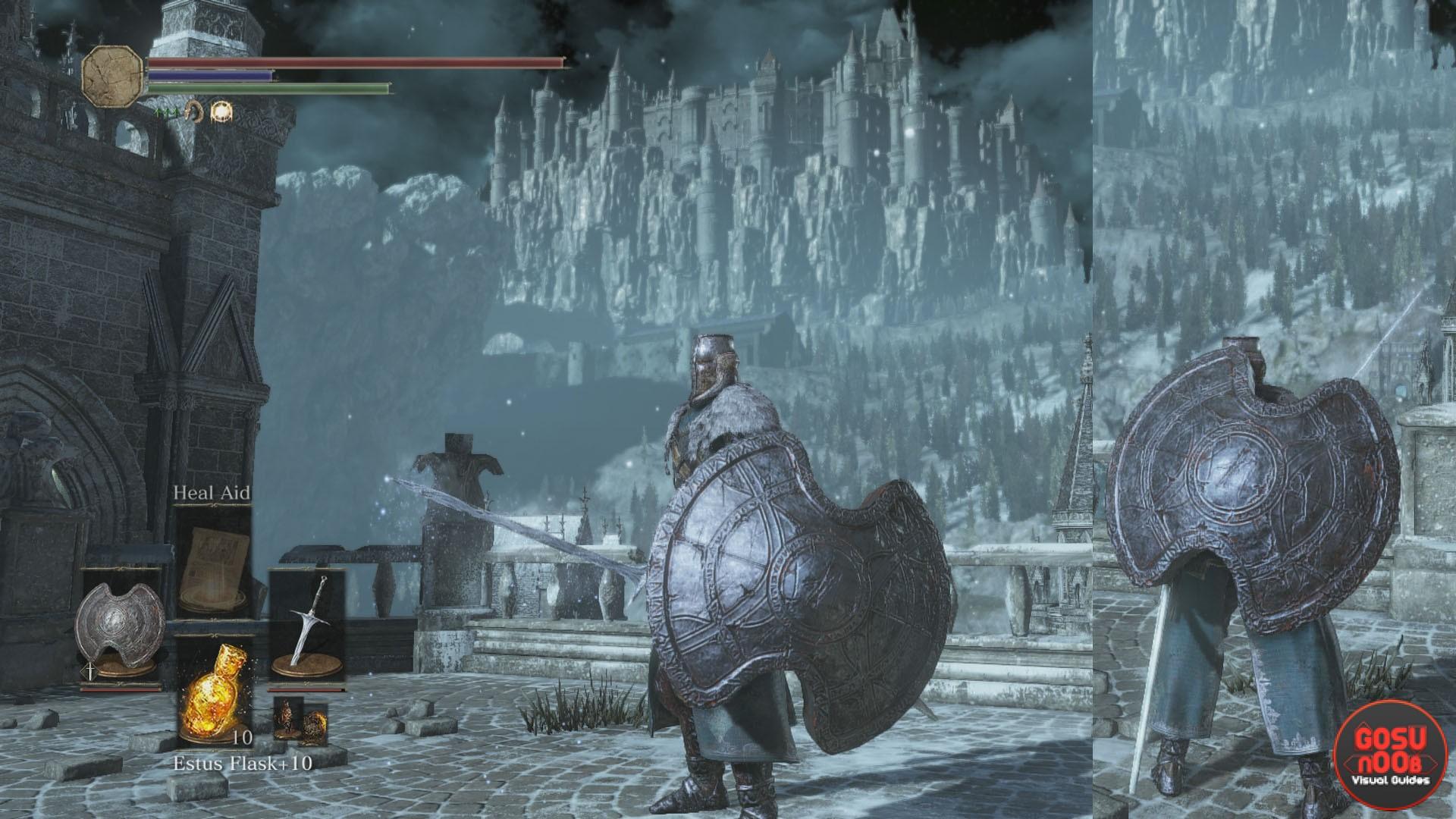 Curse Ward Greatshield Dark Souls 3 Gosu Noob