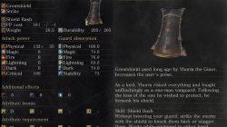 Dark Souls 3 Yhorm's Greatshield Shield