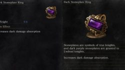 Dark Stoneplate Ring Dark Souls 3