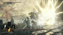 Dragonslayer Armour Lighting Attack Dark Souls 3