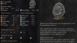 Dragonslayer Greatshield Dark Souls 3