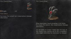 Fire Clutch Ring Dark Souls 3