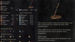 Firelink Greatsword Dark Souls 3