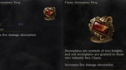 Flame Stoneplate Ring Item Dark Souls 3
