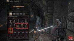 Give Easterner's Ashes to Shrine Handmaid Dark Souls 3