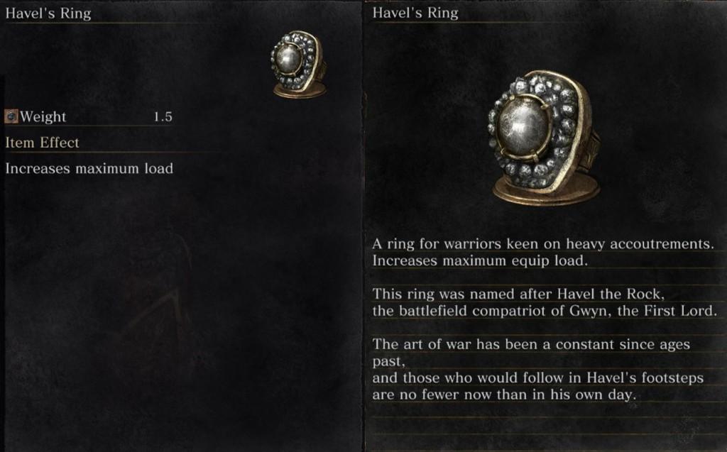 Havel's Ring Dark Souls 3