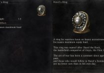 Havel's Ring Dark Souls 3