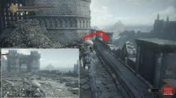 Hidden Road to Dragon Crest Shield Dark Souls 3