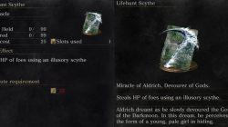 Lifehunt Scythe Miracle Dark Souls 3