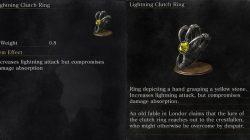Lightning Clutch Ring Dark Souls 3