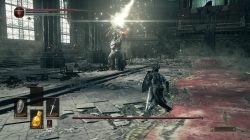 Lorian Lighting Charge Attack Dark Souls 3