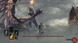 Nameless King Charged Weapon Attack Dark Souls 3