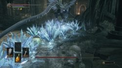 Oceiros Frost Crystal Fly Over Attack Dark Souls 3