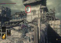 Partizan Weapon Exact Location Dark Souls 3