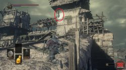 Partizan Weapon Exact Location Dark Souls 3