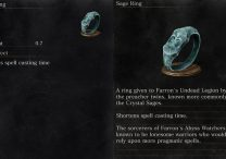 Sage Ring Dark Souls 3