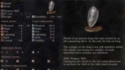 Shield of Want Item Dark Souls 3