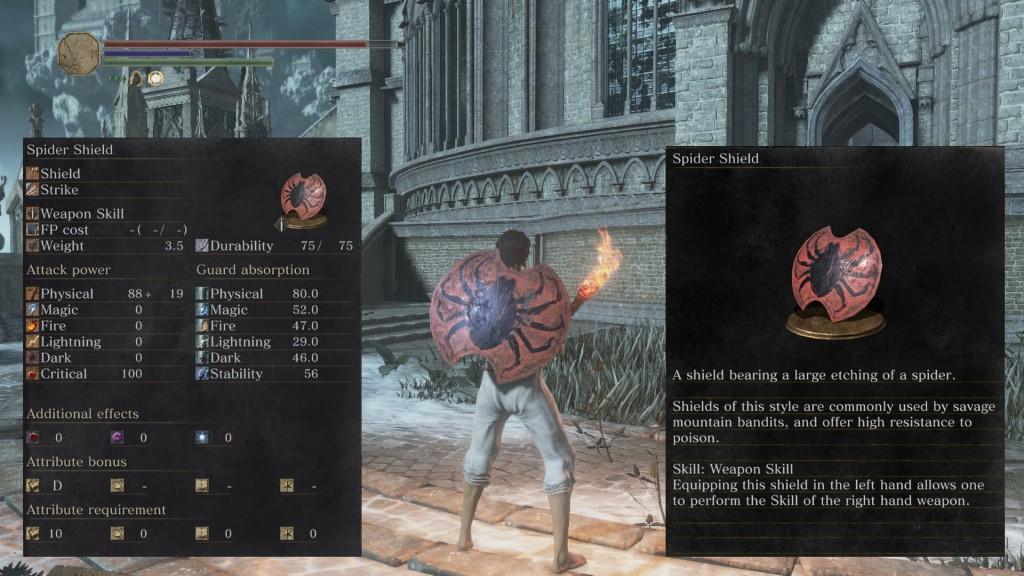 Spider Shield Dark Souls 3