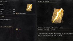 Sunlight Spear Dark Souls 3