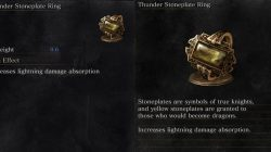 Thunder Stoneplate Ring Dark Souls 3