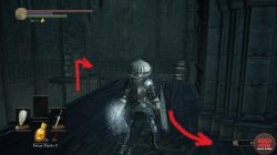 Winged Knight Illusory Wall Dark Souls 3