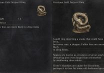 dks3 gold serpent ring stats