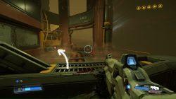 doom armor upgrade point mission 4 location