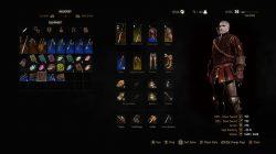 blood and wine grandmaster witcher gear