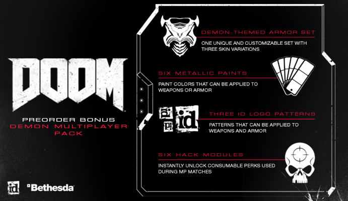 How to get Doom Demon Pre Order Multiplayer Pack