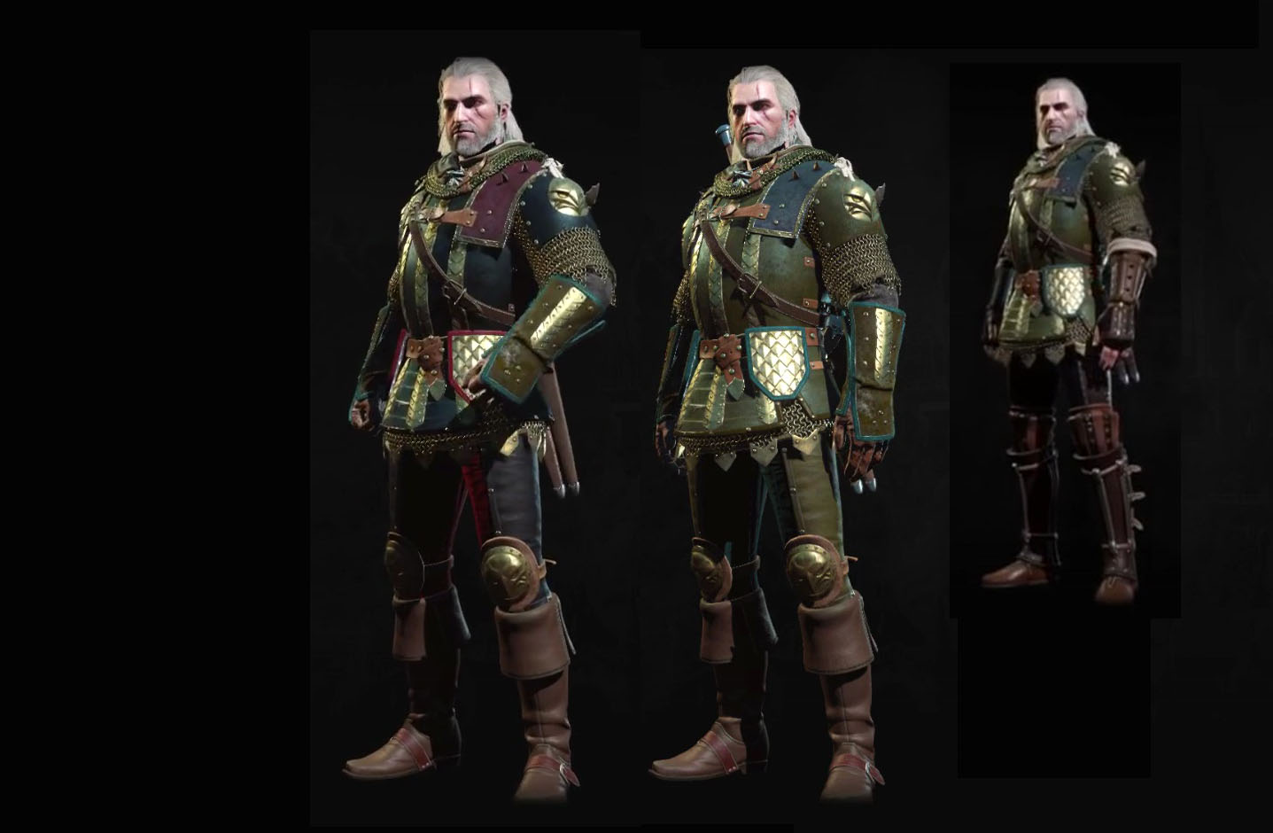 Grandmaster Griffin Armor Witcher 3 Blood And Wine