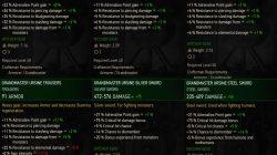 grandmaster ursine gear stats witche r3