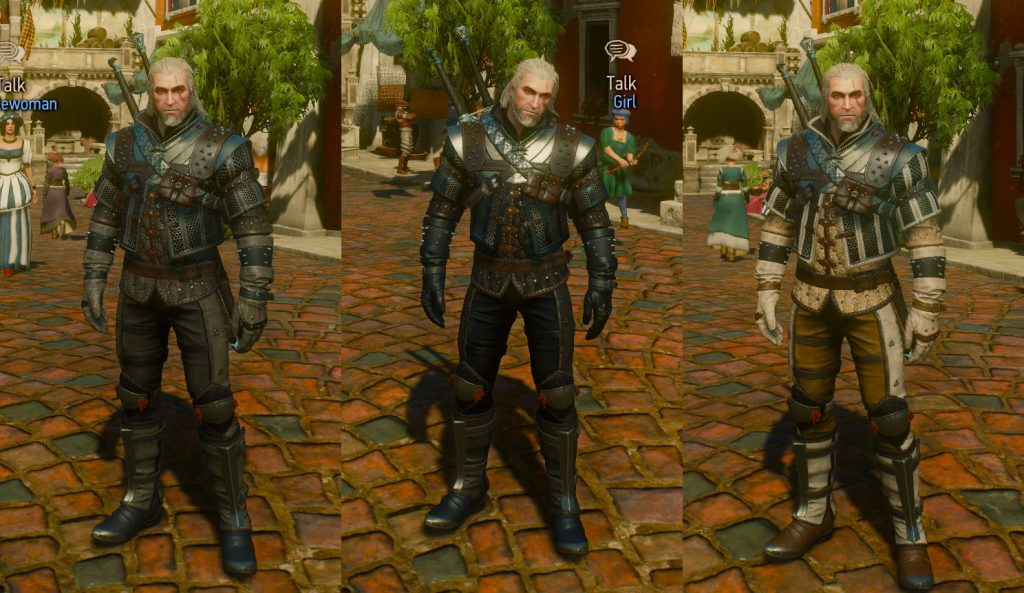 grandmaster wolf armor dyes witcher 3