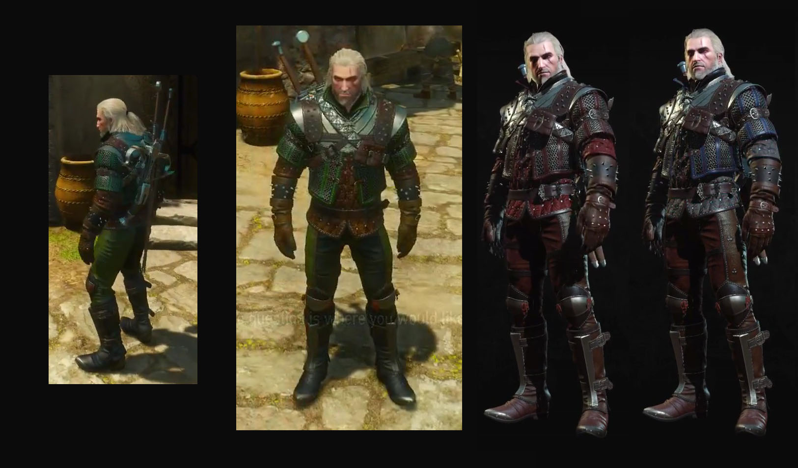Grandmaster Wolf Gear Witcher 3 Blood And Wine