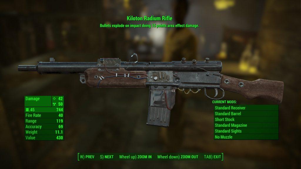 kiloton radium rifle fallout 4 far harbor