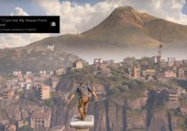 uncharted 4 I Can See My House From Here Trophy
