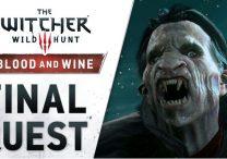 witcher 3 blood wine launch trailer