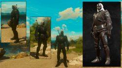 witcher 3 tesham mutna armor baw