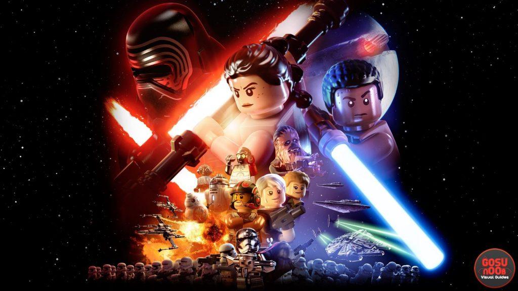 Lego Force Awakens black screen
