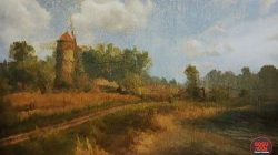 witcher 3 painting harvest time in white orchard