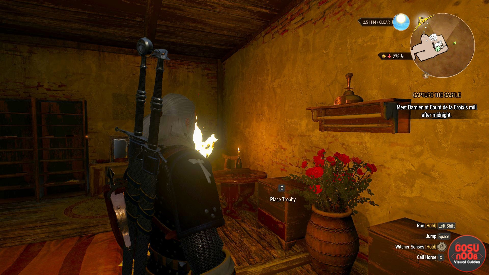 How to Get Trophy for Geralt's Vineyard Corvo Bianco