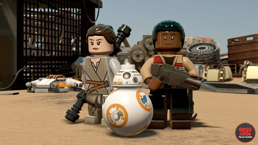 lego star wars the force awakens achievements trophies