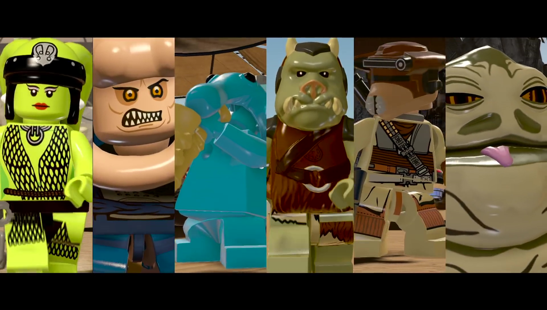 Lego Star Wars The Force Awakens Jabbas Palace Trailer
