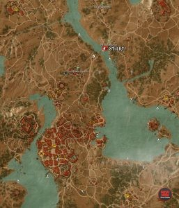 skellige gwent deck cards player locations map witcher 3 blood and wine