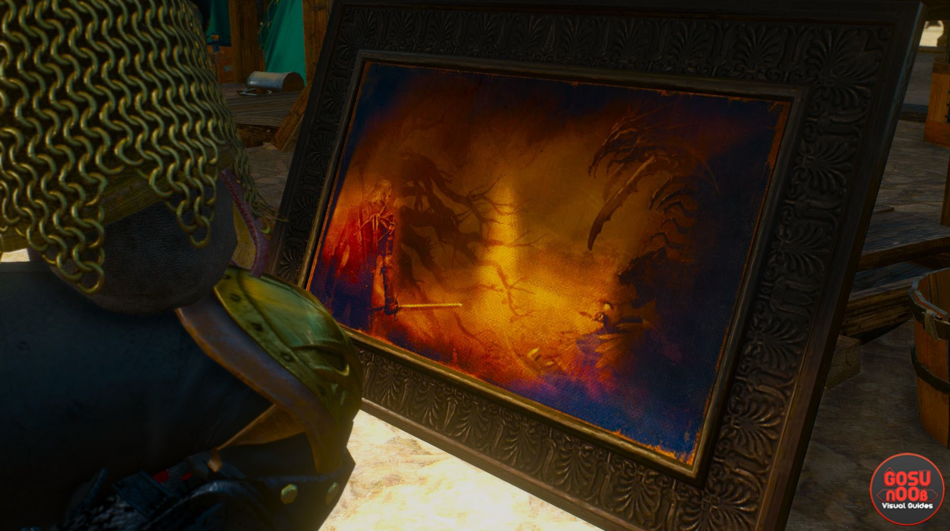 Where to find paintings in Blood and Wine | Witcher 3